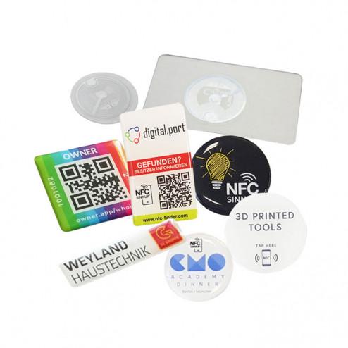 Anwendungsideen für 3D-Aufkleber mit NFC-Chip