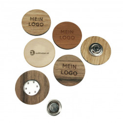 NFC Holzbutton, Magnet