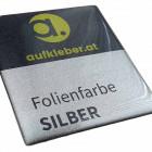 Folienfarbe silber - Premium Domingaufkleber