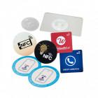 Beispiele NFC-Aufkleber mit Chip
