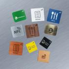 NFC Aufkleber für Metalloberflächen