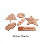Holz Buttons aus Kirschenholz