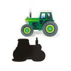 Magnet - Aufkleber Sonderform Traktor