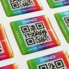 NFC-3D-Sticker Kundenbeispiel Owner App