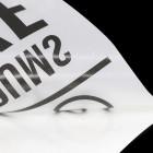 Schriftzugaufkleber anthrazit