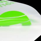 Schriftzugaufkleber lindgrün