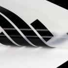 Schriftzugaufkleber schwarz