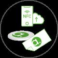 NFC Aufkleber