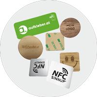 Digitale NFC-AUFKLEBER